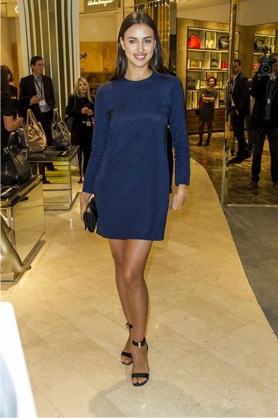 Ирина шейк короткое платье