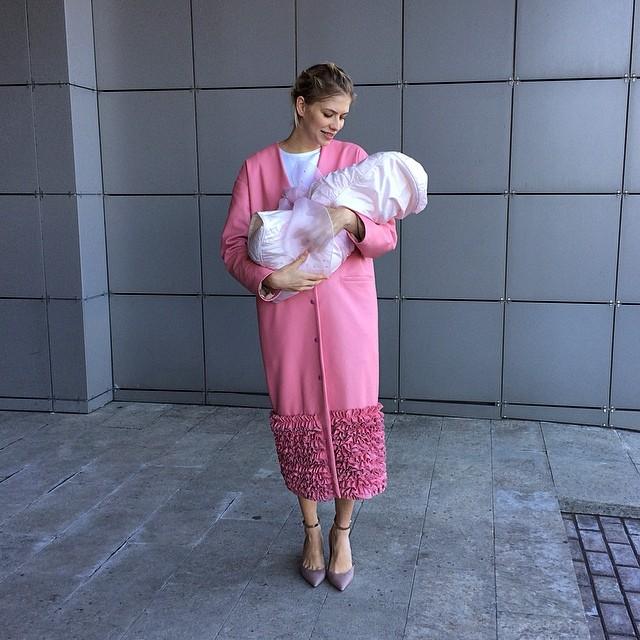 Елена Перминова, дочь