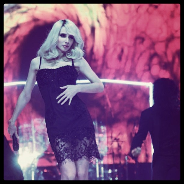 Светлана Лобода, мини-платье
