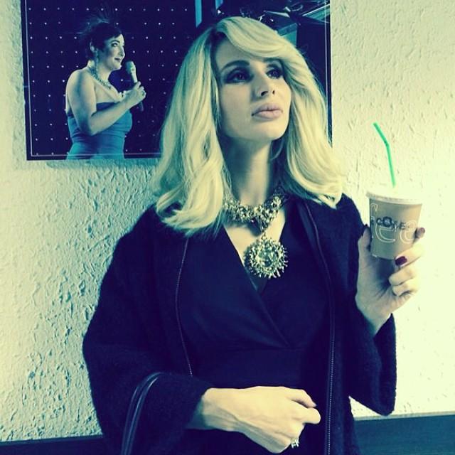 Светлана Лобода, модные образы весны 2014