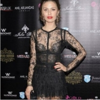 Виктория Боня, платье