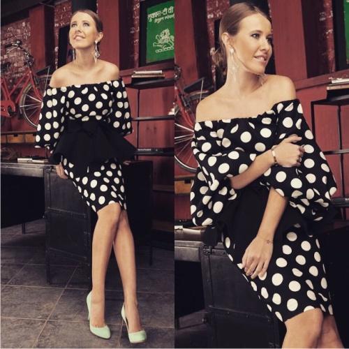 Фото ксения собчак в платьях