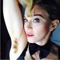 Мадонна, волосы
