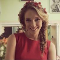 Катя Осадчая, коса