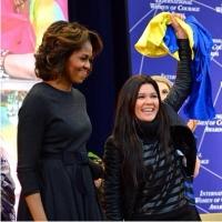 Руслана подружилась с Мишель Обамой