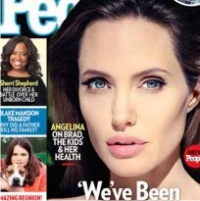 Анджелина Джоли, модный журнал, обложка