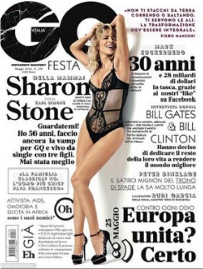 Шерон Стоун, бикини