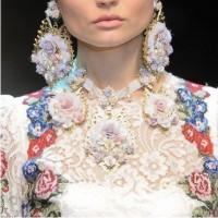 модный тренд, цветочный принт
