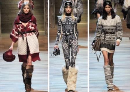 мода, тренды, меховые гетры