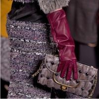 мода зимы 2014, перчатки