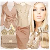 модный гардероб, модные платья