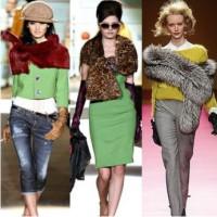 мода, осень зима 2013, модные шарфы