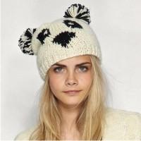 Модные вязаные шапки осень зима 2013 2014