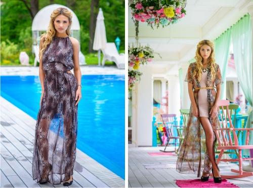 платье, стиль