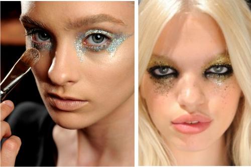 макияж, мода, тени, румяна