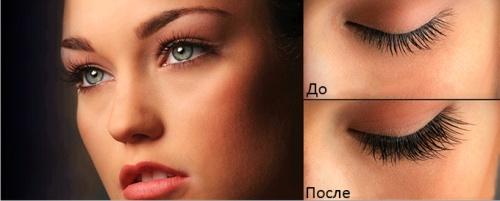 макияж, ресницы