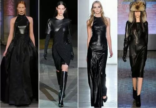 Модный тренд весны 2015 - кожаные платья - Женский журнал GLIANEC