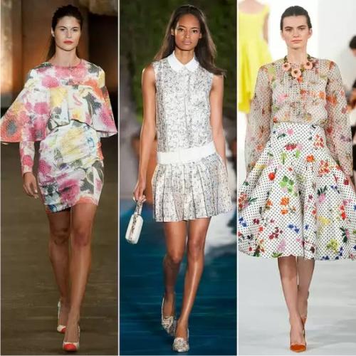платья, тренд