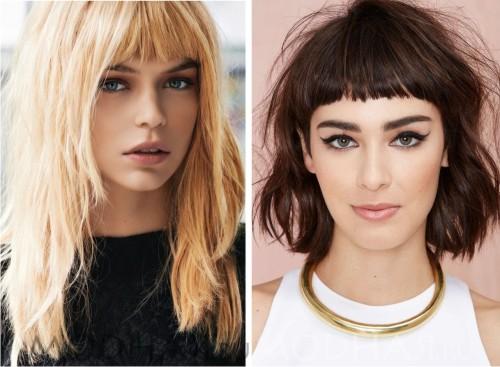 Модные причёски 2016 года