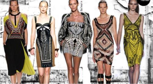 Этнические рисунки в моде