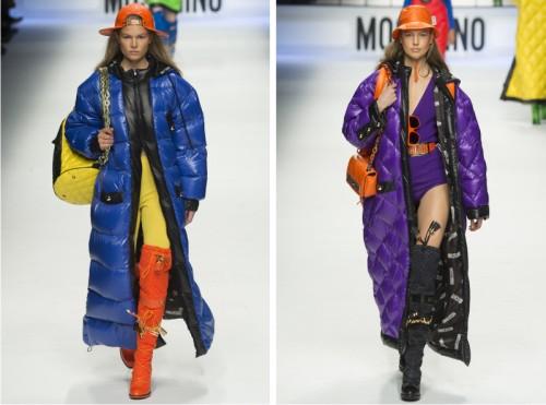 Зимние дутые костюмы женские