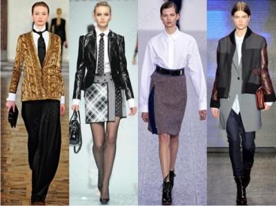 Модная офисная одежда 2015