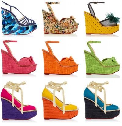 Модные босоножки на платформе - тренд 2015 - Женский журнал GLIANEC