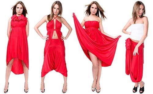 Платье трансформер из женского журнала