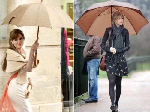 одежда со знаком umbrella