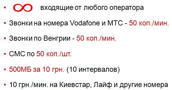 поездка, роуминг, Vodafone