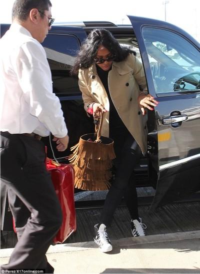 Черная пантера и сегодня очень популярна в модном мире.  Стиль знаменитостей.
