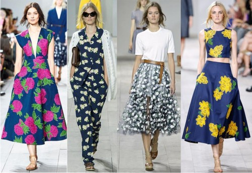2e771eb7552 Модные платья весна-лето 2016 - Женский журнал GLIANEC