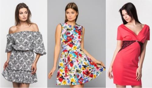 Фото платьев всех модных женских журналов
