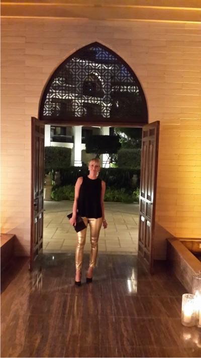 Дубай, ресторан, шопинг