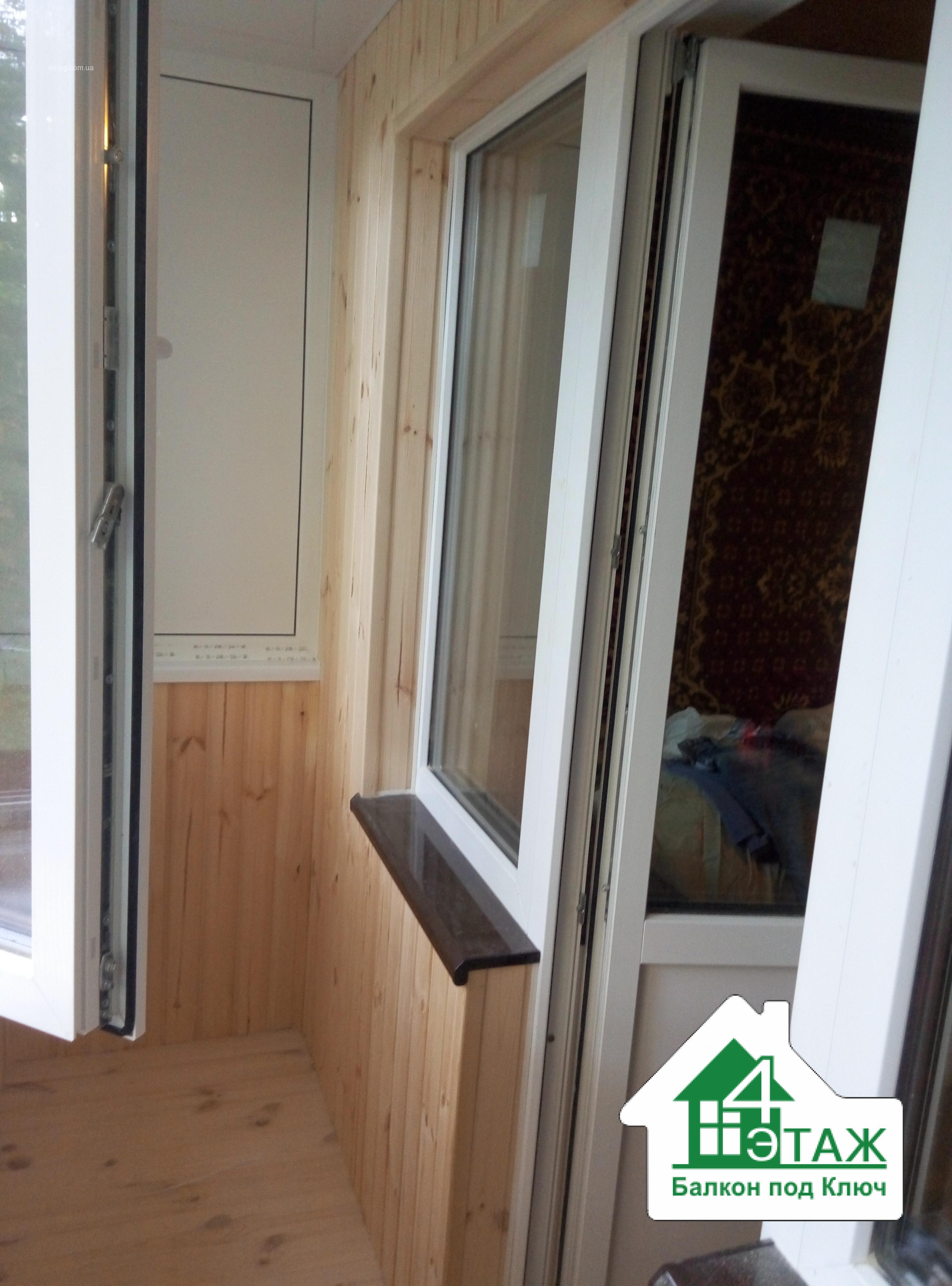 Недорогой балкон под ключ - киев, пригород, область - женски.