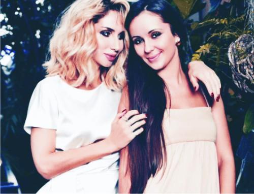 Картинки по запросу Светлана Лобода показала младшую сестру-красавицу