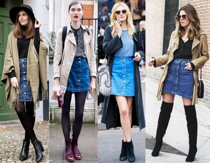 5dcb91538332 Джинсовая юбка уже давно считается универсальной вещью и присутствует в  гардеробе практически каждой женщины вне зависимости от ее возраста.