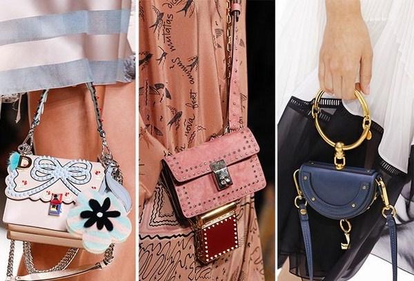 e0ce3af0473a Коллекции сумок весна-лето 2018 будут эксцентричными, экологичными,  преимущественно правильных форм с обилием различных принтов. Цветовая гамма  - светлые ...