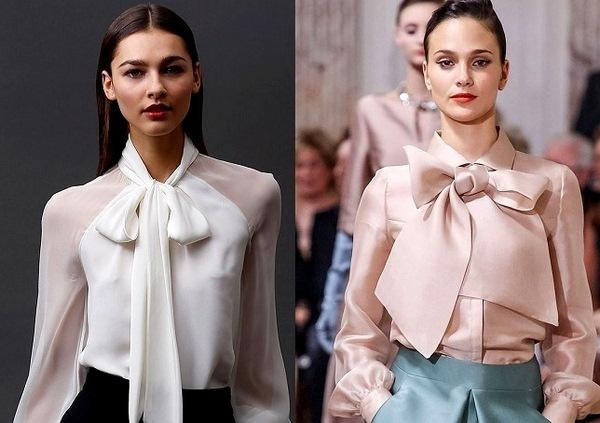 b033ef606fb Модные блузки весна-лето 2019 - Женский журнал GLIANEC