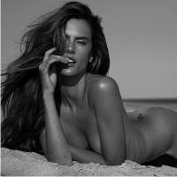 топ модель, Алессандра Амбросио, пляж в Бразилии