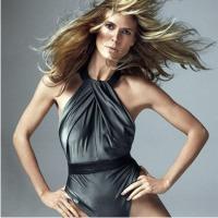 Хайди Клум, обнаженная, фото, модель, мужской журнал, обложка