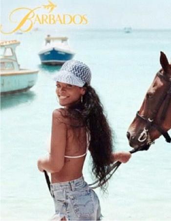 Рианна, Барбадос, пляж