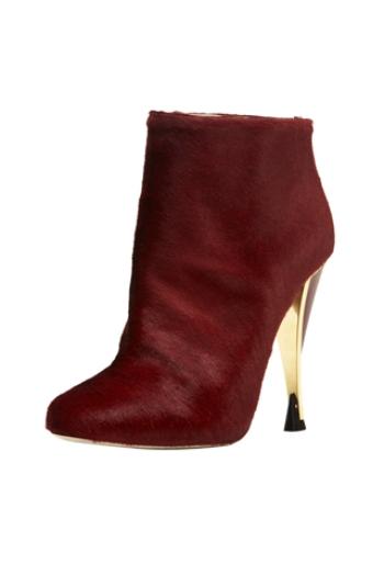 красная обуви, модный тренд, осень 2012