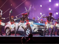 Новий Toyota C-HR на М1 Music Awards
