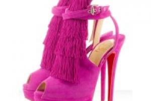 коллекция модной обуви